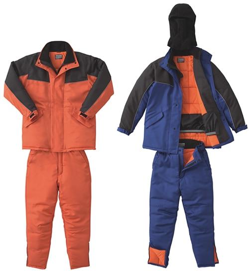 【サンエス】冷凍倉庫用防寒パンツ ST8006 【防寒着・作業服・防寒対策】