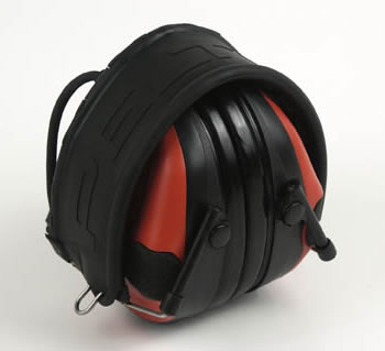 スポーツタックレッド/ブラック (NRR21dB) PELTOR 【防音対策】