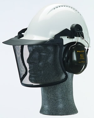 ヘルメット装着用 V4D 透明バイザー アセテートシールド