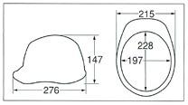 【ディック/DIC】 ABS素材ヘルメット SYA-II (ライナー入) 【安全用・工事用・高所作業用・防災】