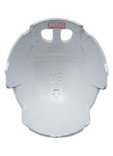 【タニザワ】 ABS素材ヘルメット ST#1840S-FZ (ライナー入)【安全用・工事用・高所作業用・防災】