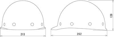 【タニザワ】 FRP素材ヘルメット ST#174-GPXZ (ライナー入)【安全用・工事用・高所作業用・防災】