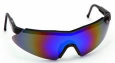 【理研化学】保護メガネ RS-18 (レインボーミラーレンズ) 【防塵・作業用・医療用】