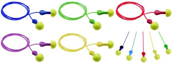 【3M】 耳栓 エクスプレスEP-2コード付 (1組) (NRR:25dB) 【防音・騒音対策】