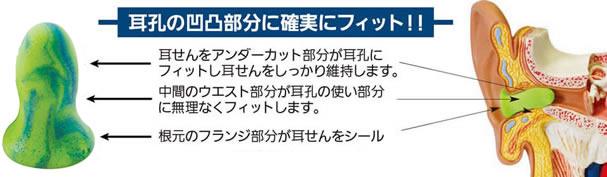 【モルデックス】 耳栓 メテオスモール6630 (1組) (NRR:28dB) 【防音・騒音対策】