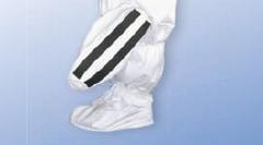 【防護服/保護服/作業服】 タイベックシューズカバー(すべり止め付・長) 6874 10足入