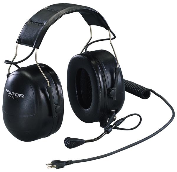 イヤーマフ PTT付遮音ヘッドセットイヤーマフ MT53H79A-31 (NRR25dB) PELTOR 【防音・騒音対策】