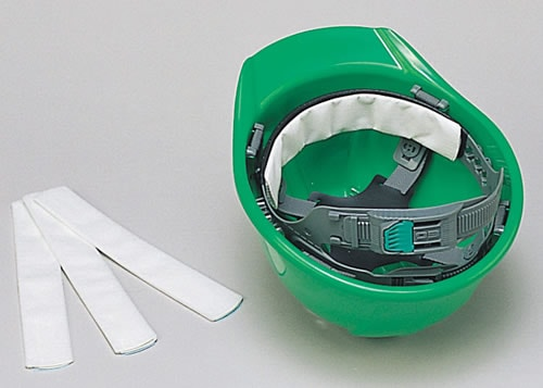 ヘルメット用汗取り【ヘルメット用アクセサリー・関連商品・装備品】