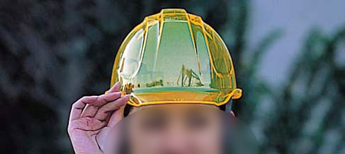 商品アイコン【ディック/DIC】 PC素材ヘルメット KIRAMET(SYP) (ライナー入)