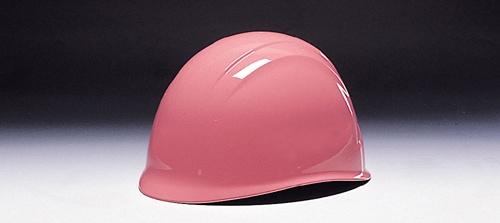 【ディック/DIC】 ABS素材ヘルメットZA 婦人向自主防災用 ライナー入 ピンク 無地 【安全用・工事用・防災】