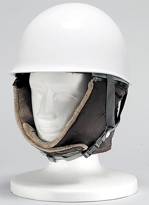 ヘルメット用 防寒用 耳カバーDX-4 【防寒着・作業服・防寒対策】【ヘルメット用アクセサリー・関連商品・装備品】