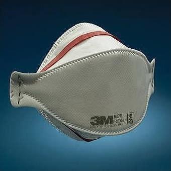 【3M/スリーエム】 医療用N95マスク 1870F-N95 (120枚) 【新型/鳥/豚インフルエンザ・感染対策】