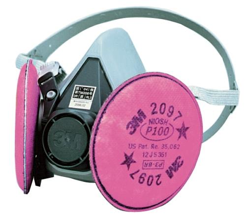 【3M/スリーエム】 取替え式防塵マスク 6000/2097-RL3 【粉塵・作業用・医療用】
