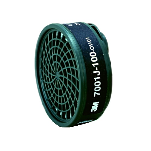 【3M/スリーエム】 有機ガス用吸収缶 7001J-100(7700用) (1個) 【ガスマスク・作業用】