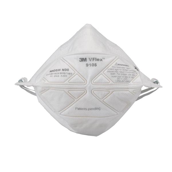 商品画像3M/スリーエム 使い捨て式 防塵マスクVFlex 9105 N95 (50枚入)