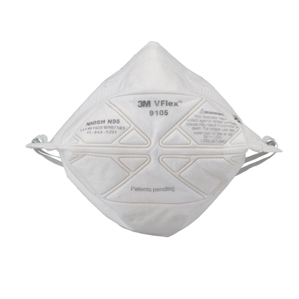 【3M】 使い捨て式防塵マスク VFlex 9105-N95 (50枚入)
