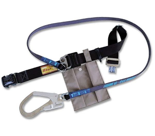 商品アイコン一般高所作業用安全帯 1本つり専用 Gカットライトワンタッチバックル G-OT593