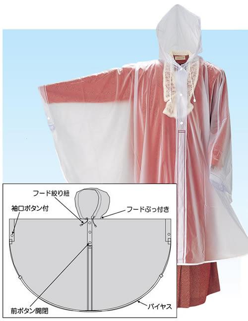 【富士ビニール工業】ビニールポンチョ 【業務用・作業用・ポンチョ】