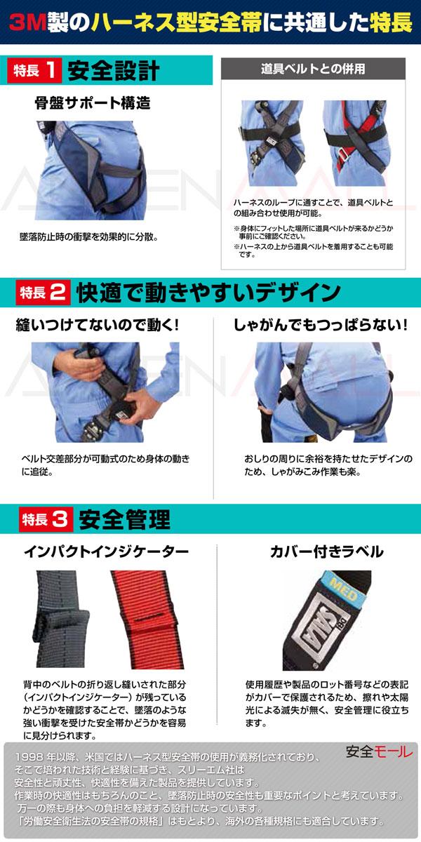 2商品画像スリーエム安全帯共通仕様