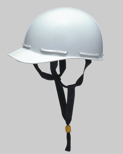 【加賀産業】素材ヘルメット H-1W (ライナー無)