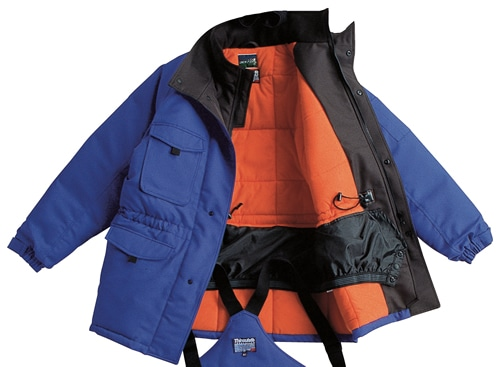 【サンエス】冷凍倉庫用防寒コート ST8000 【防寒着・作業服・防寒対策】