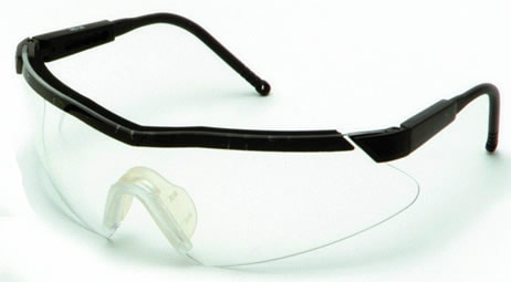 【理研化学】保護メガネ RS-18 (クリアレンズ) 【防塵・作業用・医療用】