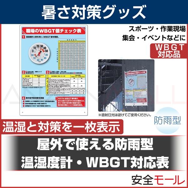 商品アイコン温湿度計WBGTチェック表