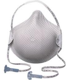 【モルデックス】 使い捨て式防塵マスク 2607-N95 (15枚入) 【新型/鳥/豚インフルエンザ・感染対策】
