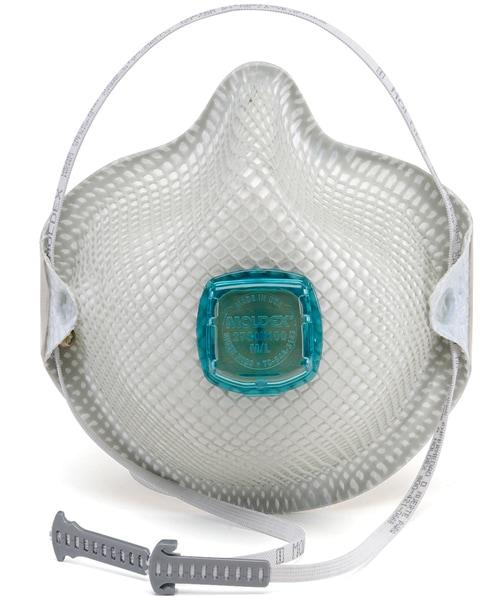 【モルデックス】 使い捨て式防塵マスク 2730-N100 (5枚入)  【粉塵・作業用・医療用】