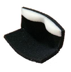 【いすず産業】 防塵マスク ケンコーマスク301型取替え用フィルター (5枚入)【粉塵・防臭・作業用】