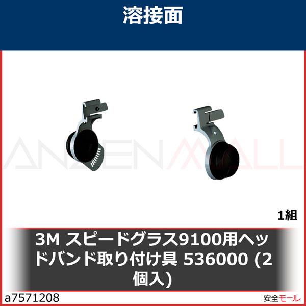 商品画像a75712083M スピードグラス9100用ヘッドバンド取り付け具 536000 (2個入) 536000 1組