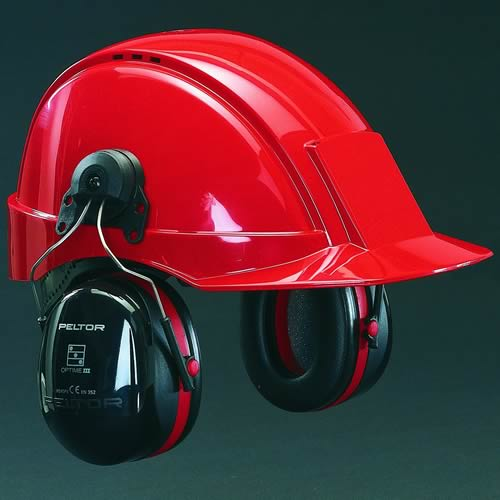 イヤーマフ G22Cヘルメット PELTOR 【防音・騒音対策】