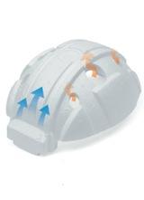 【加賀産業】 ABS素材ヘルメット FP-1F (ライナー入)ライナー