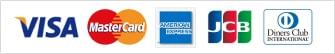 Visa,MasterCard,AmericanExpress,JCB