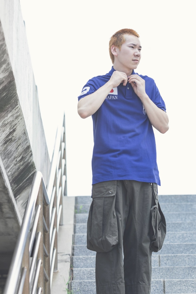 ポロシャツスタイル2
