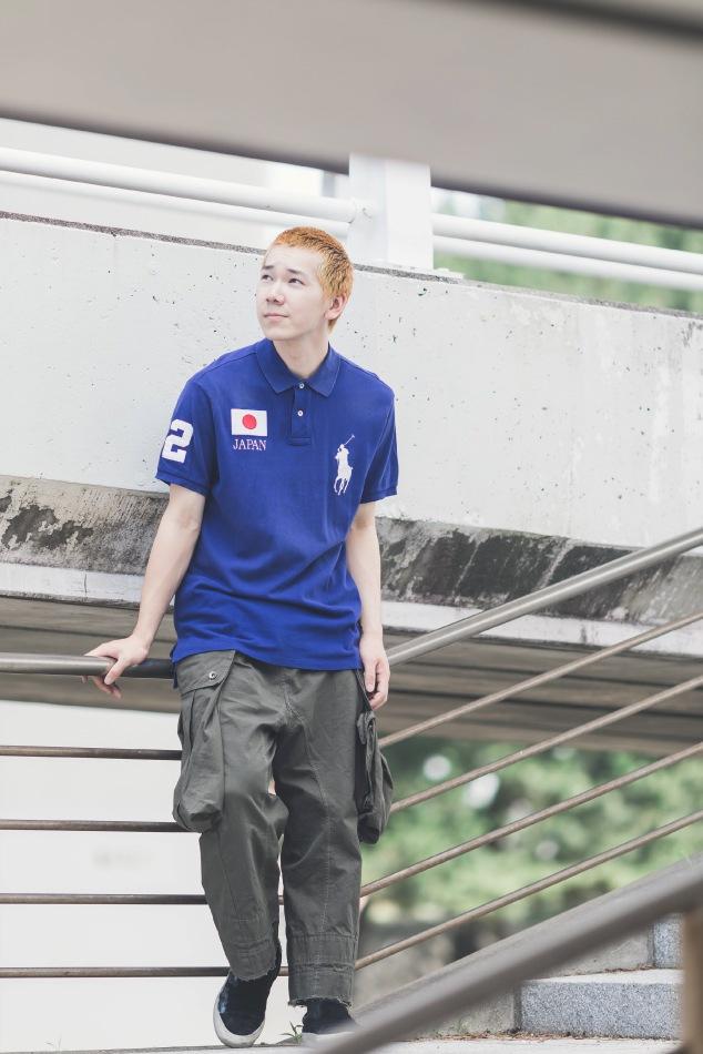ポロシャツスタイル3