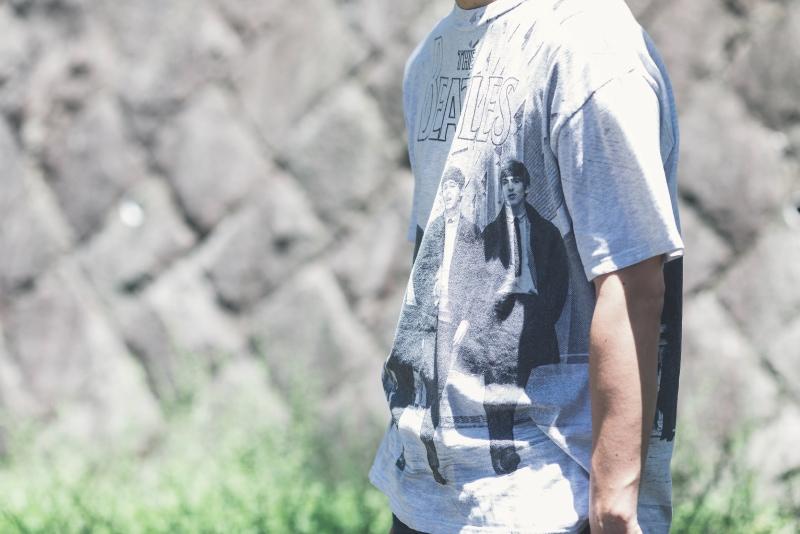 Tシャツスタイル 古着コーデ2