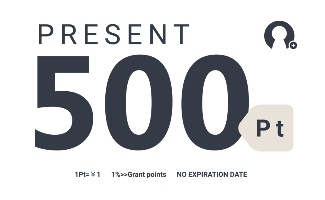 PRESENT 500pt