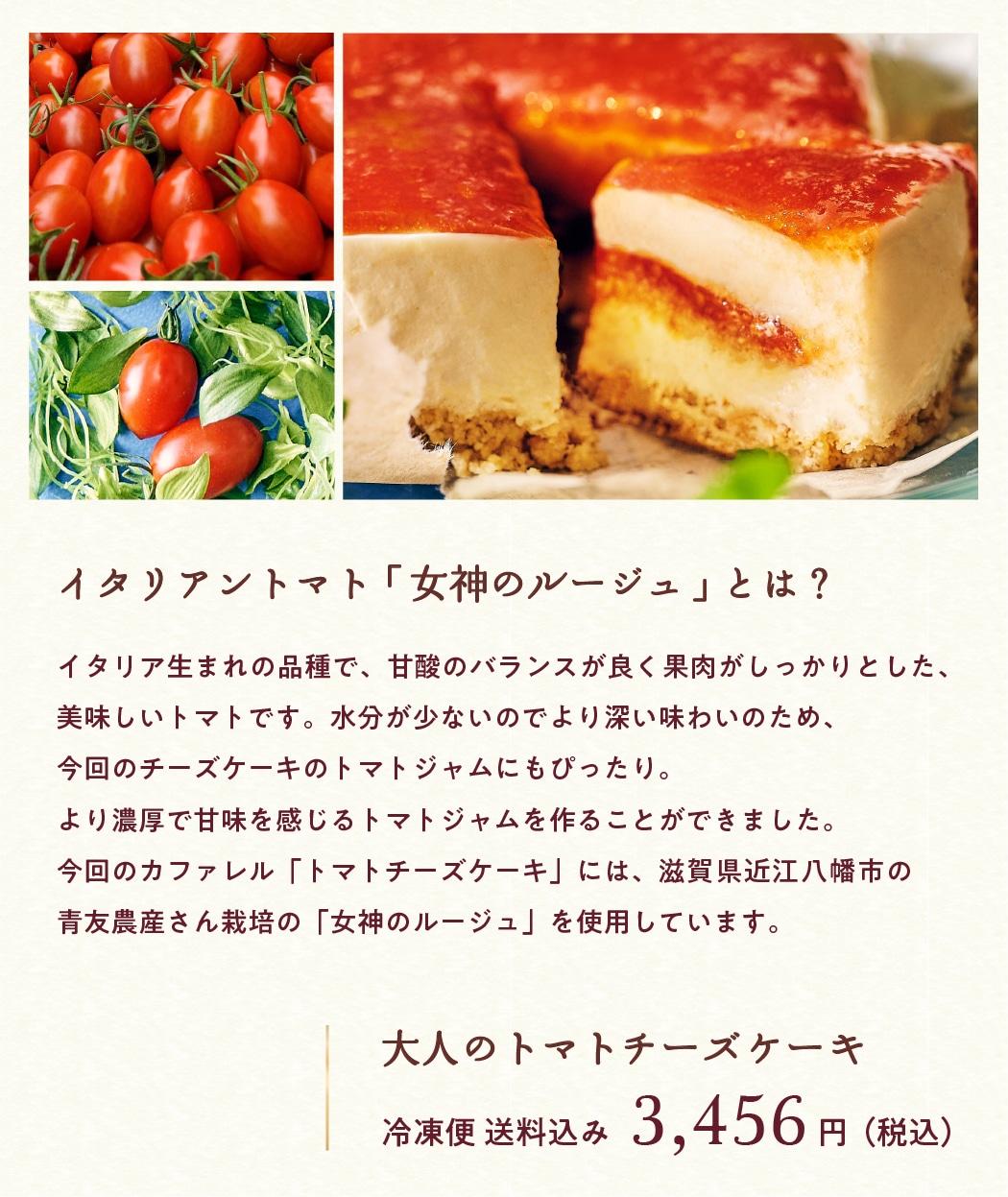 2020お取り寄せ高級トマトチーズケーキ