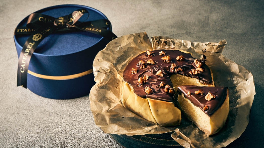 通販ギフトの高級ジャンドゥーヤチーズケーキ