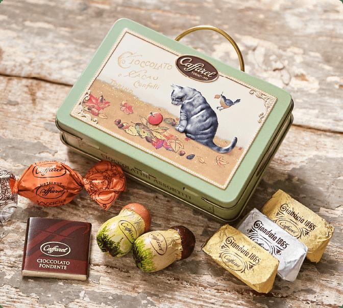 カファレルの可愛い猫チョコレート通販