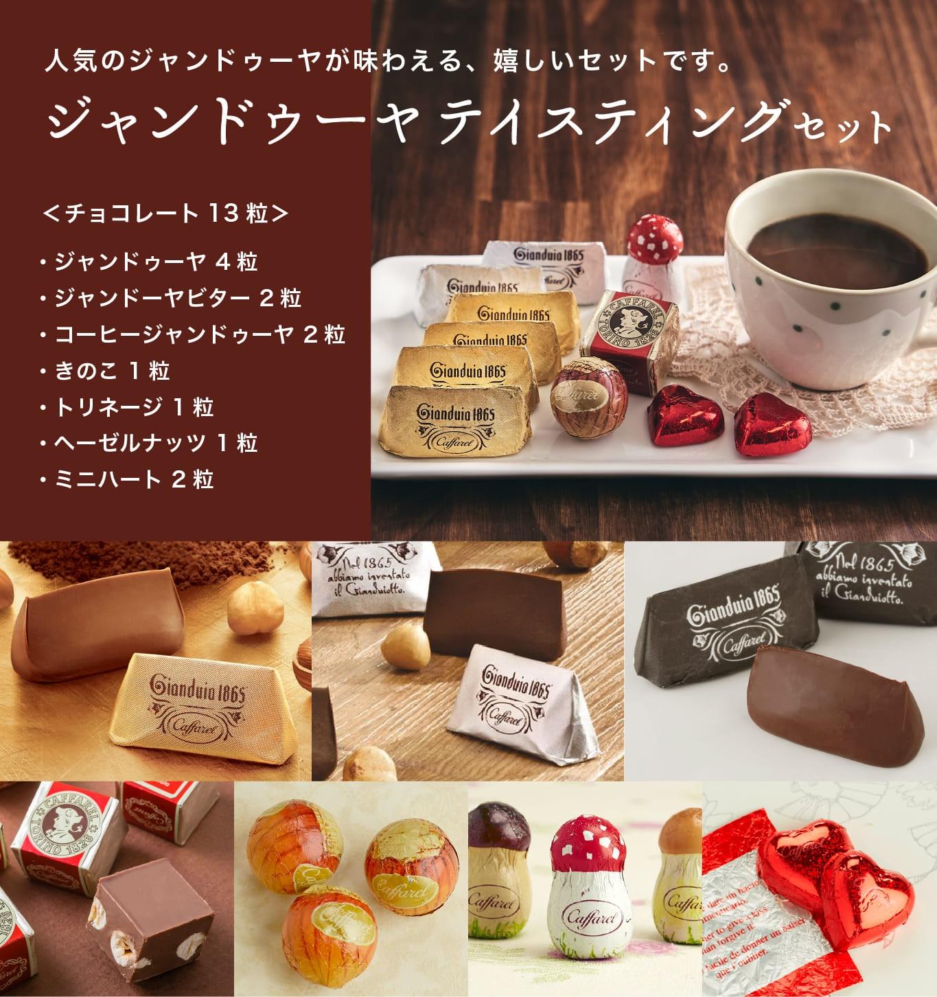 送料無料の高級チョコレート・ジャンドゥーヤお試しセット