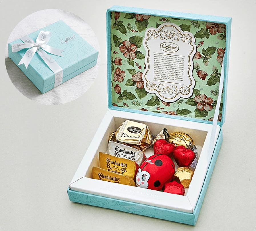 大人女子に人気の可愛いチョコレートギフトボックス