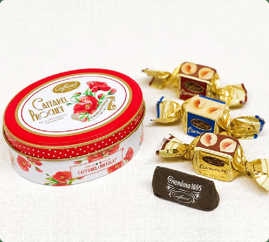 可愛い缶コレクションのピエモンテポピー缶