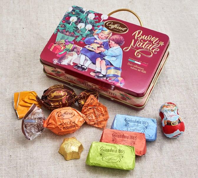 2020クリスマスチョコレート缶のギフト