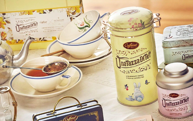 紅茶キャニスターのようなチョコレートギフト