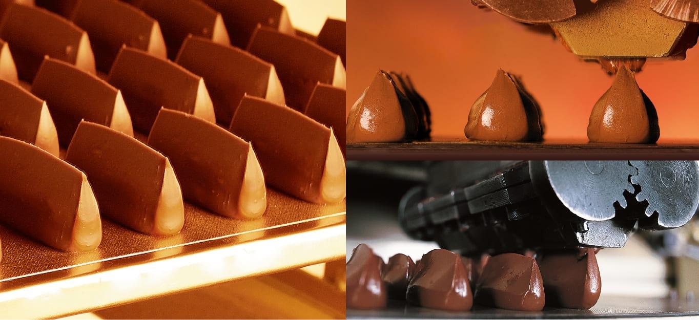 ナッツ香るジャンドゥーヤチョコレート