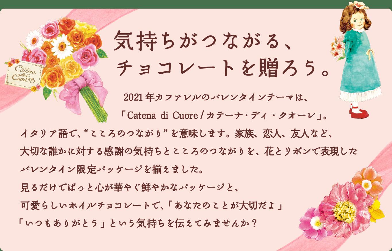 バレンタイン2021のチョコレートギフト