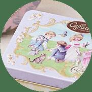 可愛い高級チョコレート缶カファレル缶