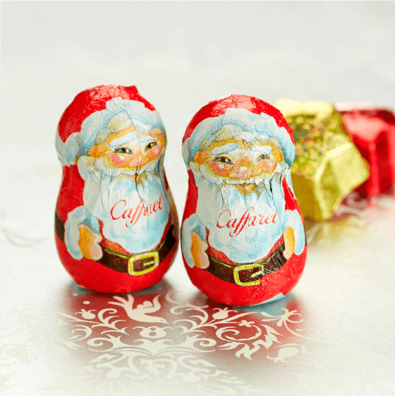 popular foil chocolate可愛いデザイン、人気のホイルチョコレート